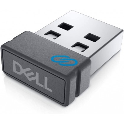 Dell Pro 2.4GHz Wireless Keyboard and Mouse Combo DPIs at 1000/1600/2400/4000 for PC Laptop - KM5221W