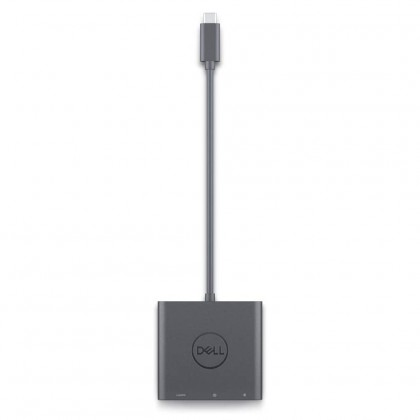 Dell Adapter USB-C to HDMI / DP 4K HDR with Power Pass-Through Thunderbolt Ports External Video Adapter for Win Chrome Mac 076RN1