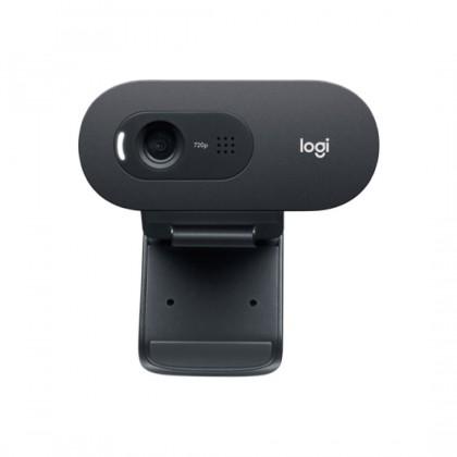 Logitech C505e/C505 HD Business Webcam with Clear Natural Audio Long Range Pickup Noise Cancelling Mic
