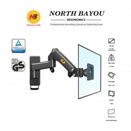 NB North Bayou F150 17 to 27 Inch Gas Strut Monitor TV Wall Bracket Holder Mount