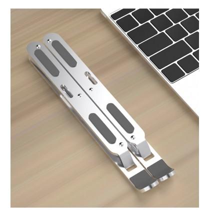 Laptop Stand Portable Platform Cooling Design Foldable Stand Adjustable Height Laptop Holder Non-Slip Notebook Stand